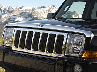 2008 Jeep Commander Front Air Deflectors