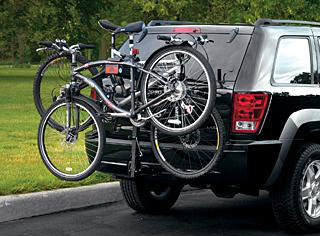2009 Jeep Commander Bicycle - Hitch-Mount