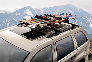 2009 Jeep Commander Ski and Snowboard - Roof-Mount