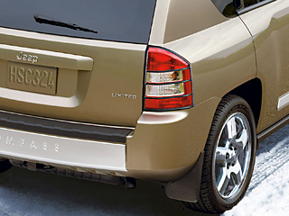 2008 Jeep Compass Taillamp Guards