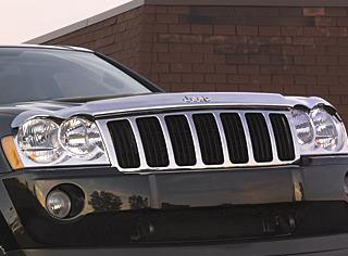 2007 Jeep Grand Cherokee Front Air Deflectors