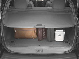 2008 Jeep Grand Cherokee Cargo Area Security Covers
