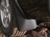 2008 Jeep Commander Deluxe Molded Splash Guards
