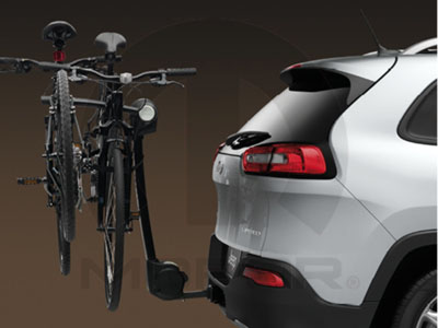 2014 jeep cherokee bicycle carrier 4 bike hitch mount. Black Bedroom Furniture Sets. Home Design Ideas