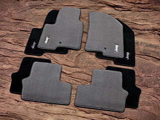 2009 Jeep Compass Premium Carpet Floor Mats