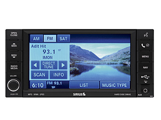 2010 Jeep Commander AM/FM/Sat CD/DVD/MP3 w/Nav and HD drive (RER), uconnect GPS
