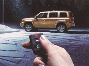 2008 Jeep Compass Remote Start - One Way