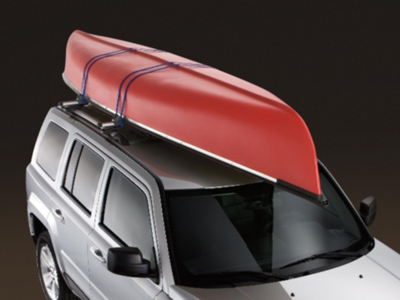 2012 Jeep Compass Thule Canoe Carrier TC773CAN