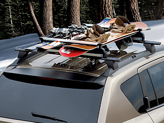2012 Jeep Compass Thule Ski and Snowboard - Roof-Mount TC91725S